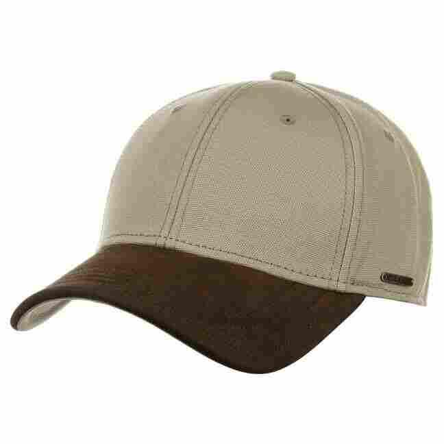 Plano Nabuk Baseball Cap by Stetson - 49 d88fef4b6215